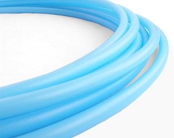 5/8 Sky Blue  HDPE Hula Hoop  // Customizable// Light Weight//Trick Hoop//Dance Hoop