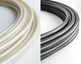 """2 Piece Polypro Hula Hoop  5/8"""" or 3/4"""" Collapsible for Travel- Push Pin Connection"""