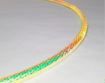 Reflective Hula Hoop // High Intensity Firefly // Polypro or HDPE