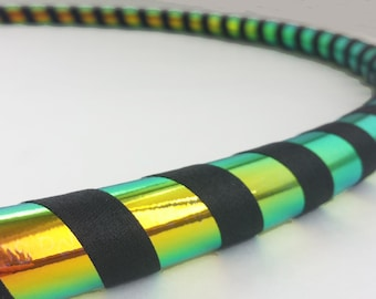 Rainbow Morph All Sizes Hula Hoop, Beginner//Polypro//Kid//Weighted//Exercise//Dance Hula Hoop // Customizable