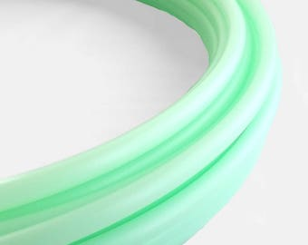 UV Mad MInt 3/4 Polypro Hula Hoop// Customizable// Light Weight//Trick Hoop//Dance Hoop