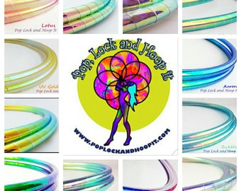 Hula Hoop Buy 2 and Save Performance Polypro//Twins//Doubles//Customizable