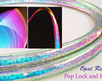 Opal High Intensity Color Shifting Reflective Performance Polypro Hula Hoop 3/4 or 5/8 This is not an LED Hula Hoop