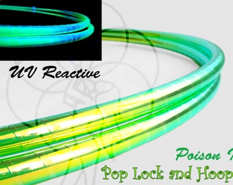 Poison Ivy Performance Polypro or HDPE Hula Hoop or Minis 3/4 or 5/8