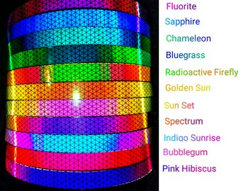 High Intensity Color Shifting Reflective Performance Polypro Hula Hoop 3/4 or 5/8 This is not an LED Hula Hoop