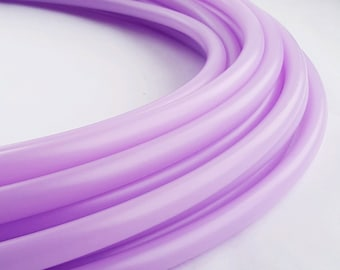 Lilac 3/4 Polypro Hoop// Customizable//Super Light Weight//Trick Hoop//Dance Hoop