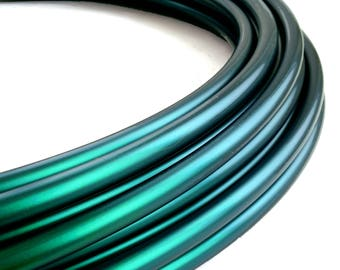 Color Shifting Black Mamba  Polypro 5/8 Hula Hoop// Customizable// Light Weight//Trick Hoop//Dance Hoop