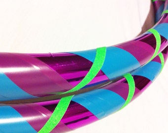 Razzberry All Sizes Hula Hoop Beginner//Polypro//Kid//Weighted//Exercise//Dance Hula Hoop // Customizable