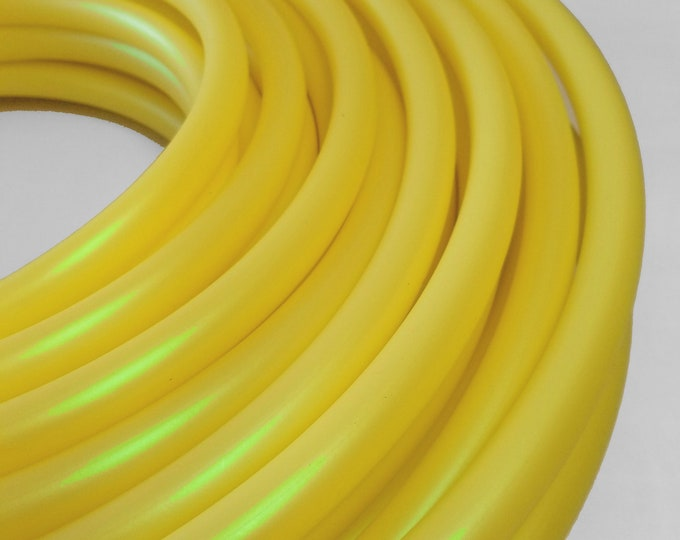 3/4 HDPE Hula Hoop  Lemoen Lime Color Shifting// Customizable// Light Weight//Trick Hoop//Dance Hoop