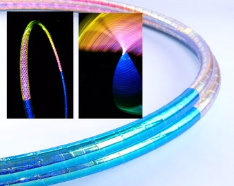 Reflective Hula Hoop // High Intensity Event Horizon // Polypro or HDPE