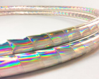 Rainbow Wave  Performance Polypro or HDPE Hula Hoop or Minis 3/4 or 5/8