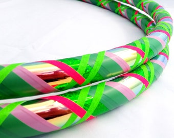 Melon All Sizes Hula Hoop, Beginner//Polypro//Kid//Weighted//Exercise//Dance Hula Hoop // Customizable