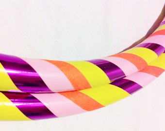 Fruity Tooty All Sizes Hula Hoop, Beginner//Polypro//Kid//Weighted//Exercise//Dance Hula Hoop // Customizable
