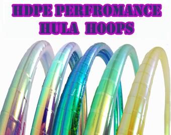 Performance HDPE 5/8 or 3/4  Hula Hoop// Customizable// Light Weight//Trick Hoop//Dance Hoop//Taped Hoop