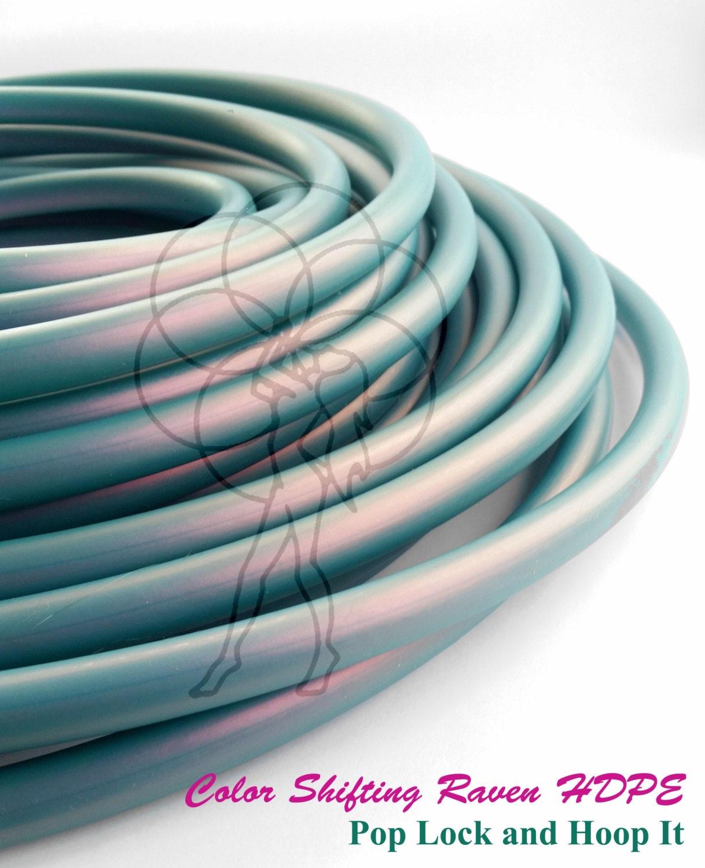 SALE 5/8 HDPE Hula Hoop Raven Color Shifting// Customizable// Light ...