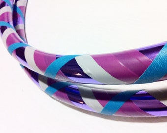 Lilac All Sizes Hula Hoop Beginner//Polypro//Kid//Weighted//Exercise//Dance Hula Hoop // Customizable