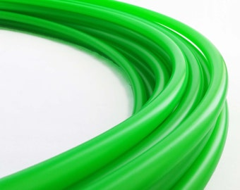 """UV Green 11/16"""" Polypro Hula Hoop//Light Weight//Trick Hoop//Dance Hoop"""