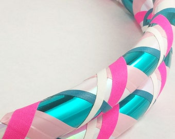 Cotton Candy Beginner//Exercise//Dance Hula Hoop // Customizable