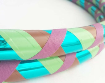 Earth Tones All Sizes Hula Hoop Beginner//Polypro//Kid//Weighted//Exercise//Dance Hula Hoop // Customizable