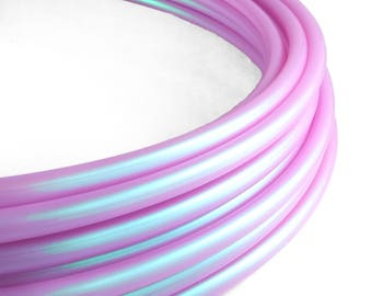 "Polypro Hula Hoop 11/16"" Third Eye Purple - Collapsible for Travel- Push Pin Connection-Sizes 25""-38"""
