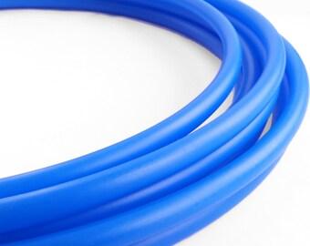UV Blue 3/4 HDPE Hula Hoop// Customizable// Light Weight//Trick Hoop//Dance Hoop