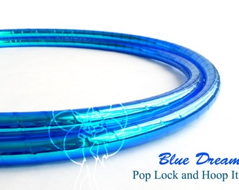 Polypro Hoop or HDPE //Blue Dream Performance Polypro or HDPE Hula Hoop Hula Hoop or Minis 3/4 or 5/8