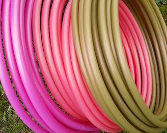 3/4  HDPE Hula Hoop// Customizable// Light Weight//Trick Hoop//Dance Hoop