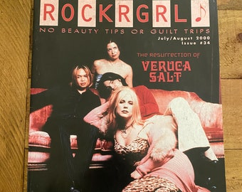 ROCKRGRL Magazine July/August 2000 Issue #34
