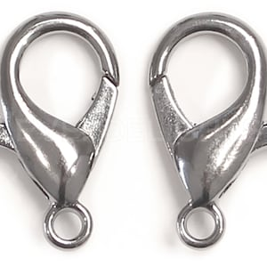 25 earhooks 16x16mm platinum