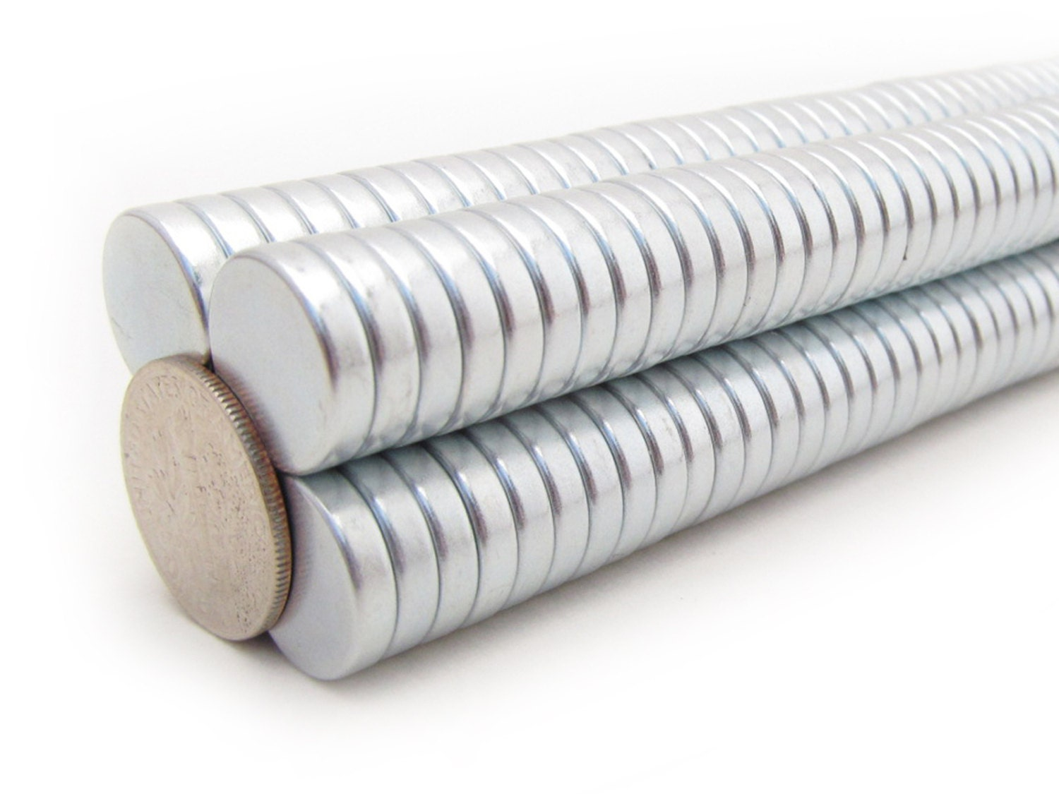 """Craft Strong 10mm x 1.5mm 3//8/"""" x 1//16/"""" N35 Disc Magnet 200 Neodymium Magnets"""