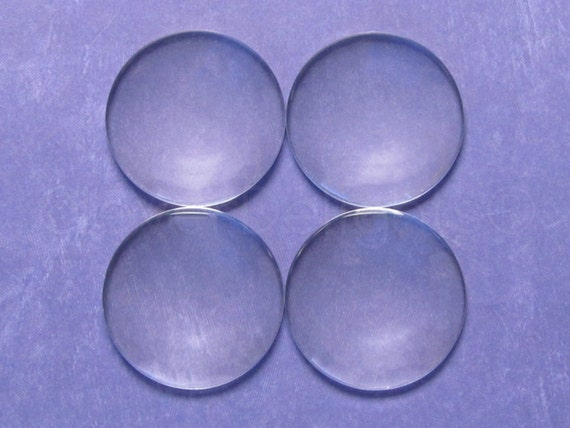 """Clear Magnifying Dome Cabs Craft 9//16/"""" Inch 100 Round Glass Cabochons 14mm"""