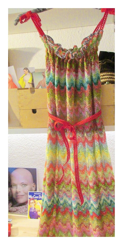 Lose strick Kleid Netz vertuschen Festival Kleid Strand