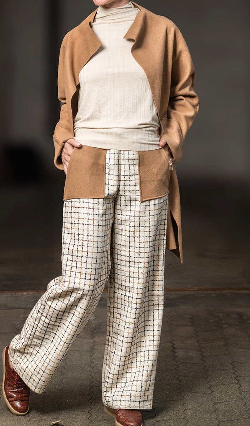 9cedf8885 Wide Leg pants Palazzo pants woolPants Winter pants