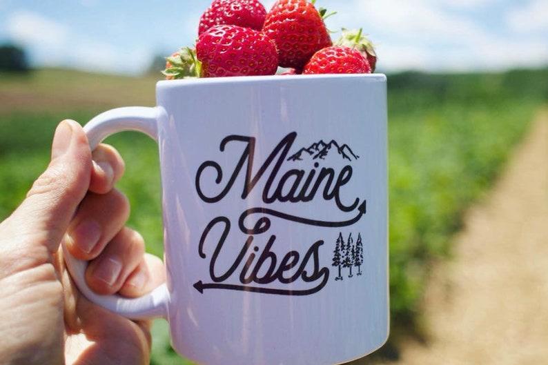 Maine Vibes Mug image 0