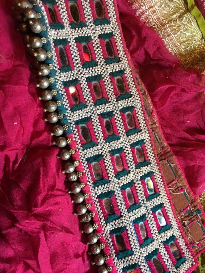 Ethnic belt Authentic Indian Banjara Tribal Waist Belt Boho belt Traditional Vintage 26 inches