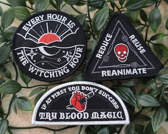 Diff-Occult Patch Set of 3