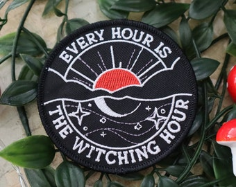 Witching Hour Iron-On Patch
