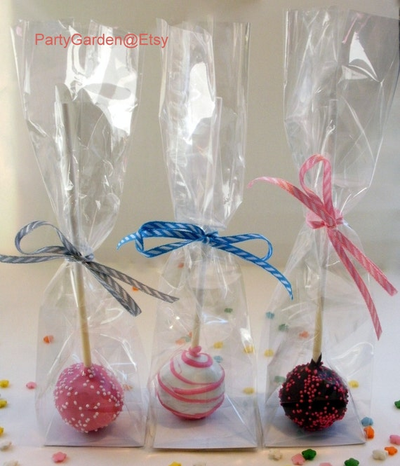 200 Cake Pop/Macaron Bags - Perfect for cake pops