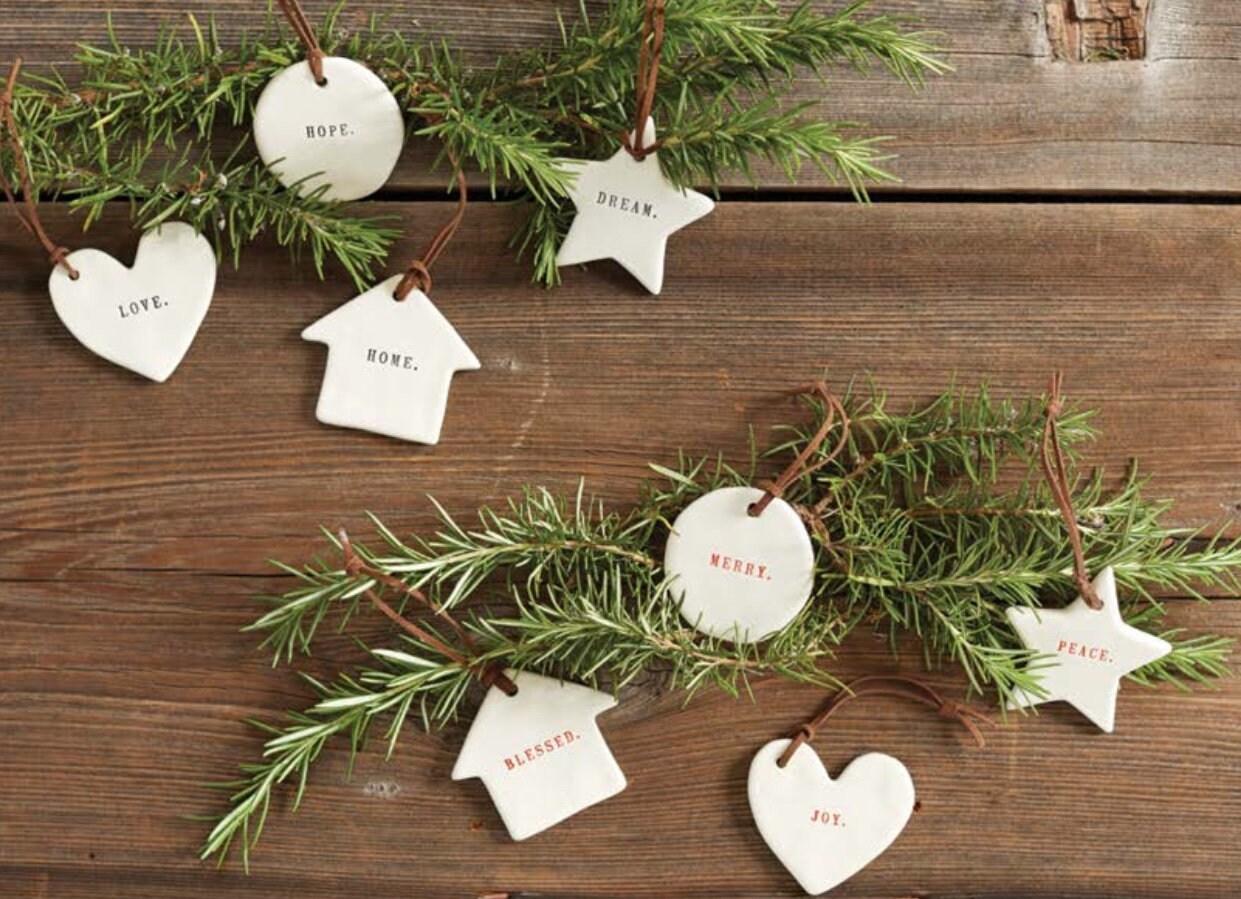 Sale Rae Dunn Boutique Christmas Ornaments