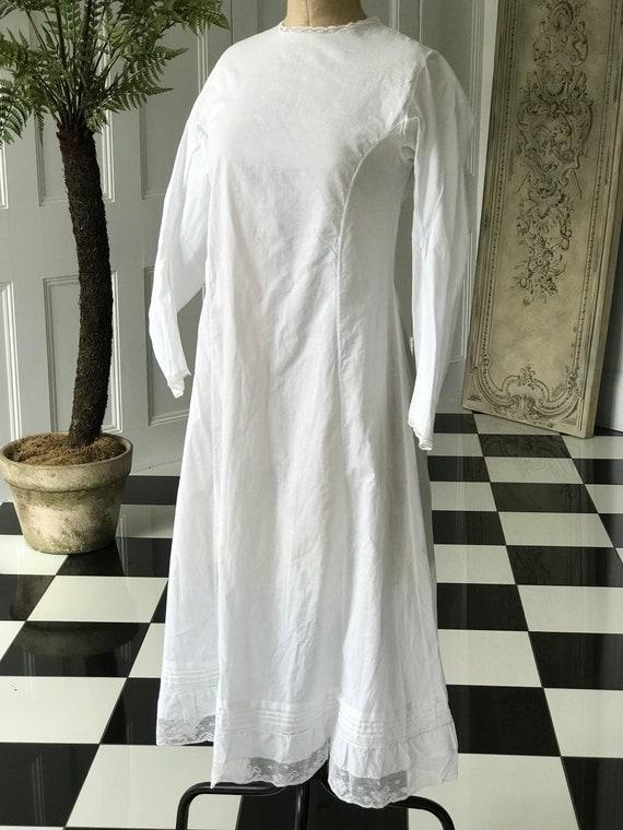 Edwardian underdress slip dress underwear - image 6