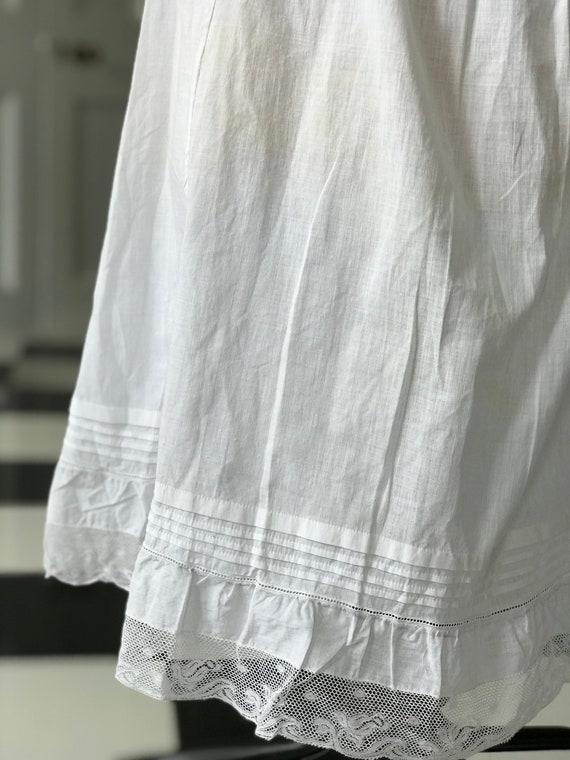 Edwardian underdress slip dress underwear - image 2