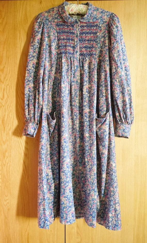 1970s Origin Liberty Brushed Cotton Boho /Hippie/F