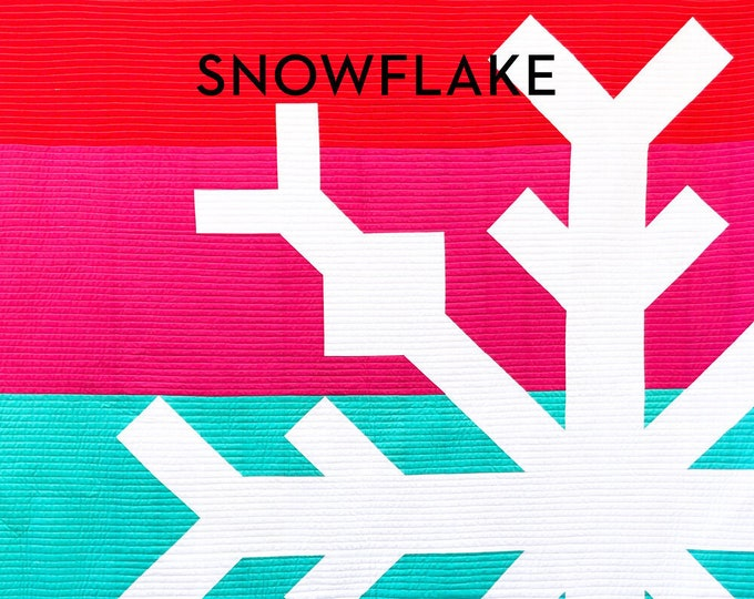 Snowflake Quilt Paper Pattern By Modern Handcraft