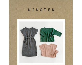 Women's Shift Dress + Top Sewing Pattern by Wiksten