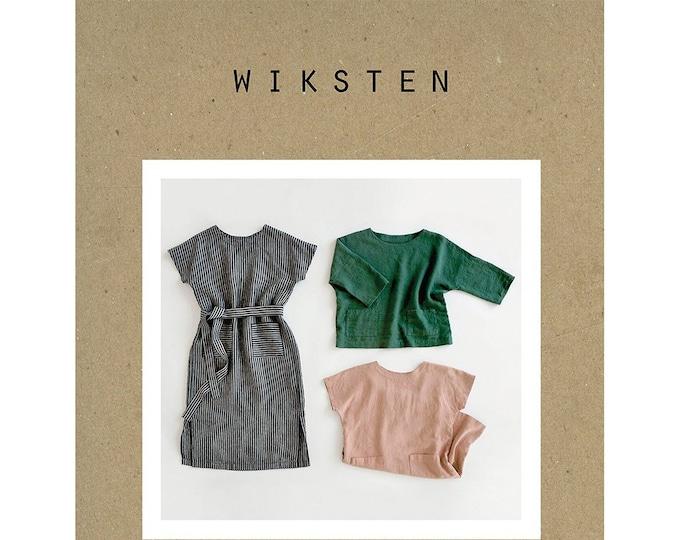 Women's Shift Dress + Top Sewing Pattern by Wiksten