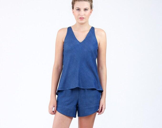 Reef Camisole & Shorts Set Paper Pattern- Megan Nielsen Patterns