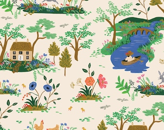 PRESALE: Garden Toille (cream CANVAS) from English Garden by Rifle Paper Co.