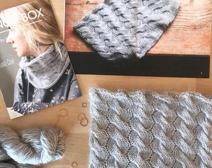 The Luna Cowl Project Kit by The Finch Box