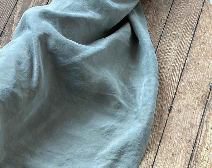 Cupro Tencel Linen in OLIVE by Telio