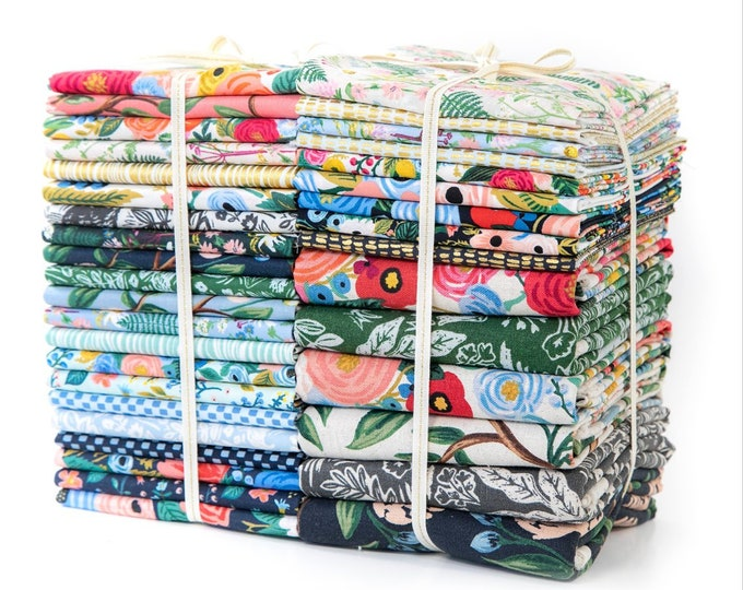 PRESALE: Wildwood Collection by Rifle Paper Co. - Fat Quarter Bundle